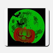 Full Halloween Moon Mousepad