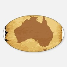 Australian Map Decal