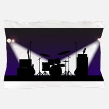 Rock Band Stage Equipent Pillow Case