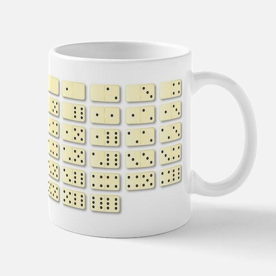 Dominoes Set Mugs