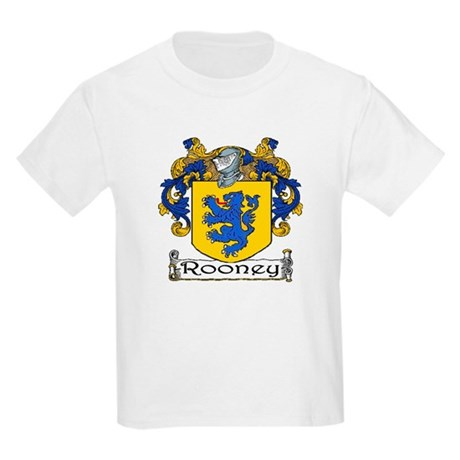 Rooney Coat of Arms Kids T-Shirt