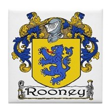 Rooney Coat of Arms Ceramic Tile