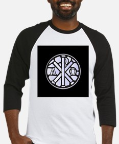 Alpha Omega Glass Window Baseball Jersey
