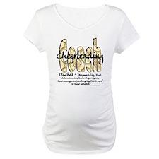 Cheer Coach Spiral Pattern Shirt