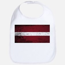 Flag of Latvia Bib