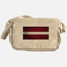 Flag of Latvia Messenger Bag