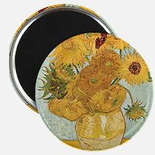 Van Gogh Sunflowers Magnets