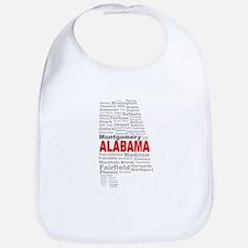 Alabama State Word Cloud Bib