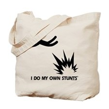 Bomb Explosion, My Own Stunts Tote Bag