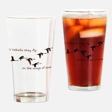 To Valhalla Drinking Glass