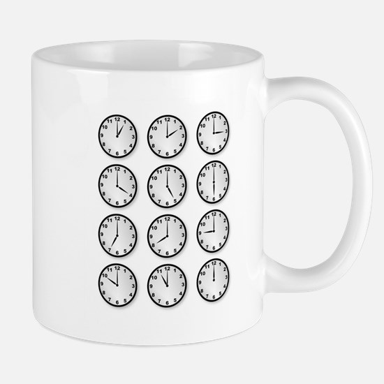 Clocks Mugs