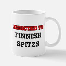 Addicted to Finnish Spitzs Mugs