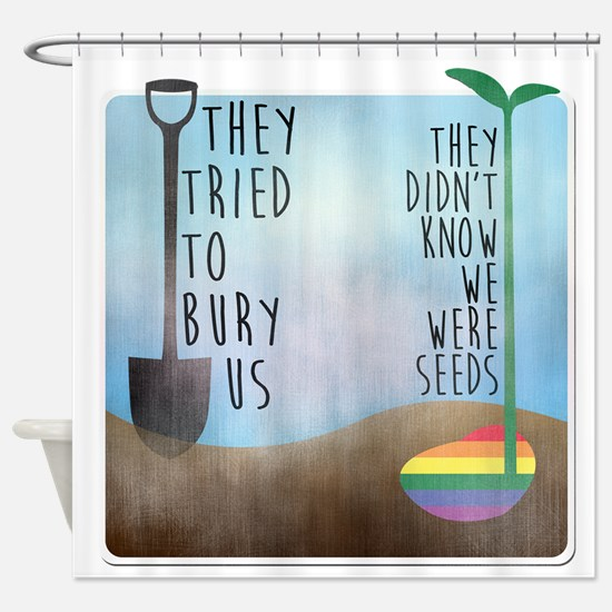 Cool Lgbtq Shower Curtain