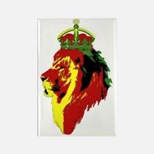 Cute Rastafarian Rectangle Magnet