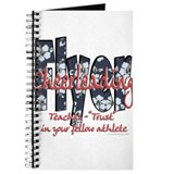 Cheerleading flyer Journals & Spiral Notebooks