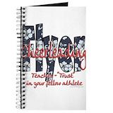 Cheerleading flyer Journals & Spiral Notebooks