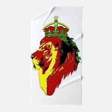 Lion Of Zion Beach Towel
