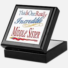 Middle Sister Keepsake Box