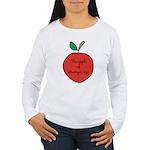 Apple of Gramps' Eye Women's Long Sleeve T-Shirt