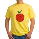 Apple of Gramps' Eye Yellow T-Shirt