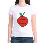Apple of Gramps' Eye Jr. Ringer T-Shirt