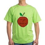 Apple of Gramps' Eye Green T-Shirt