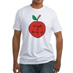 Apple of Gramps' Eye Fitted T-Shirt