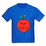 Apple of Gramps' Eye Kids Dark T-Shirt