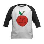 Apple of Gramps' Eye Kids Baseball Jersey