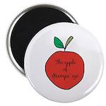 Apple of Gramps' Eye Magnet