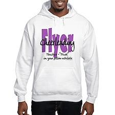 Cheer Flyer Purple Hoodie