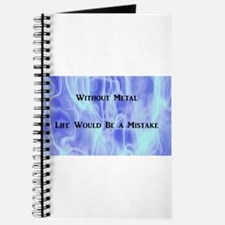 Blue Flames Metal Journal