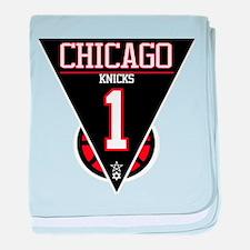 Chicago Knicks baby blanket