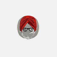 Urban Turban Mini Button