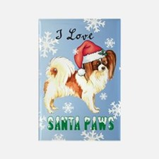Holiday Papillon Rectangle Magnet
