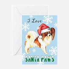 Holiday Papillon Greeting Card