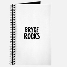 Bryce Rocks Journal