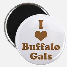 I Heart (Love) Buffalo Gals Magnets