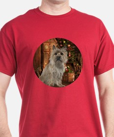 Cairn Terrier Christmas T-Shirt