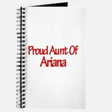 Proud Aunt of Ariana Journal
