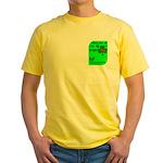 Irish/French Heritage Yellow T-Shirt
