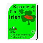 Irish/French Heritage Mousepad