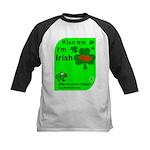 Irish/French Heritage Kids Baseball Jersey