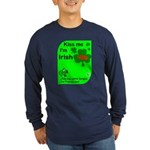 Irish/French Heritage Long Sleeve Dark T-Shirt