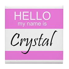 Crystal Tile Coaster