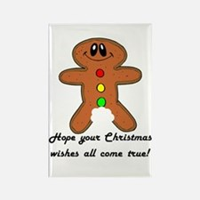 Christmas Wishes Rectangle Magnet