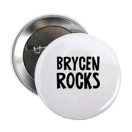 """Brycen Rocks 2.25"""" Button (10 pack)"""
