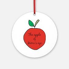 Apple of Mimi's Eye Ornament (Round)