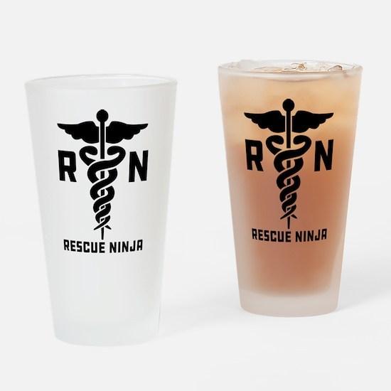 Rescue Ninjas Drinking Glass