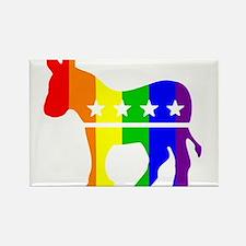 Democratic Pride Magnets